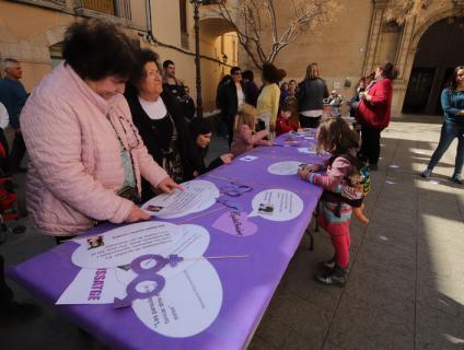 Dia Internacional de les Dones a l'Aleixar l'any 2020